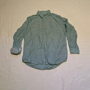 Tommy Bahama Green Striped Men's Medium